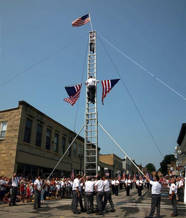 Fourth of July Flag Raising